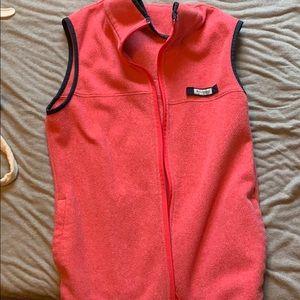 Pink Columbia vest